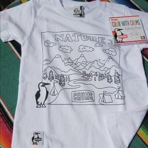 Brand New - Chums Color Your Own Shirt Kit